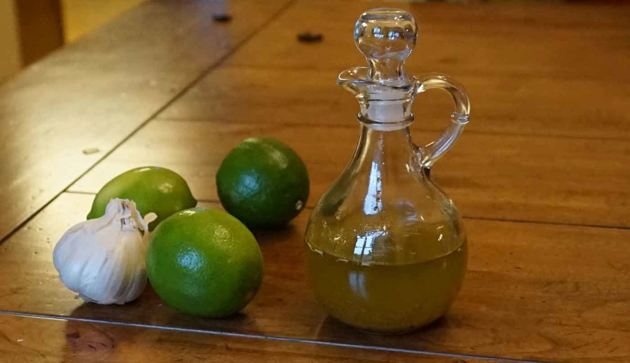 vegan lime garlic salad dressing