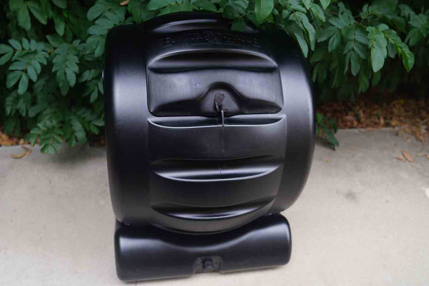 compost bin spinning drum from Envirocycle