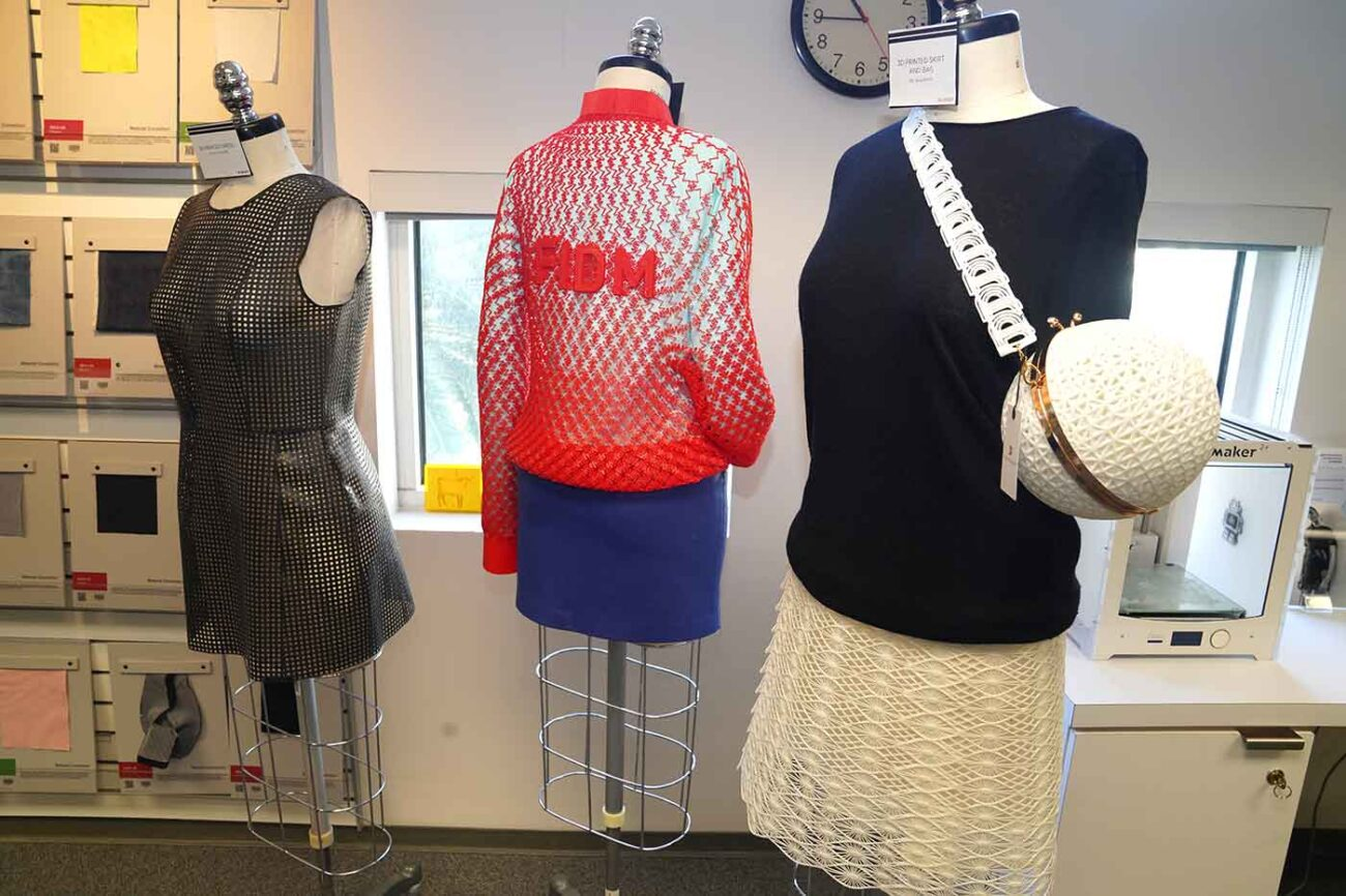 3D printed clothing