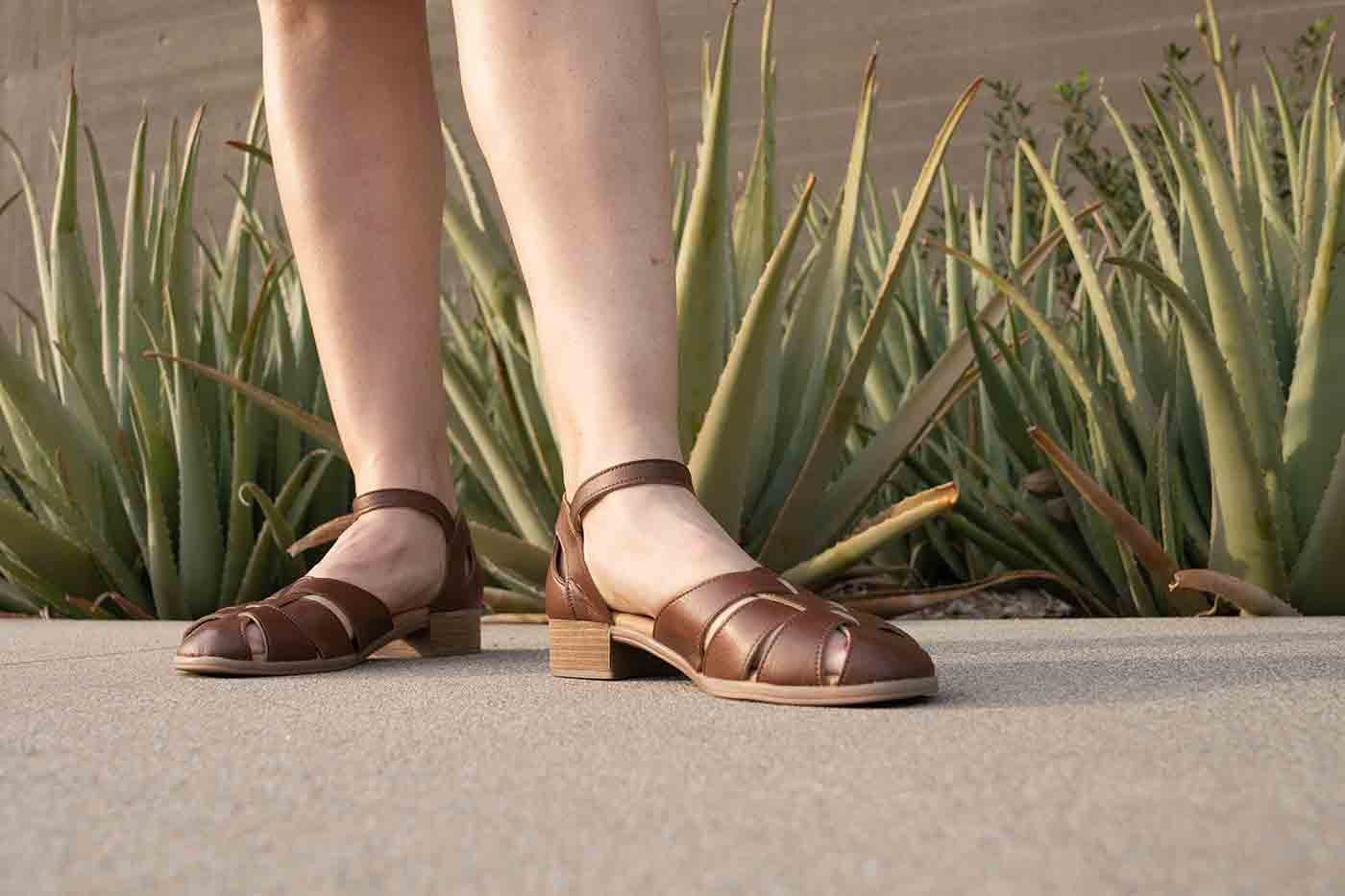 Nora mary jane in tan from Novacas