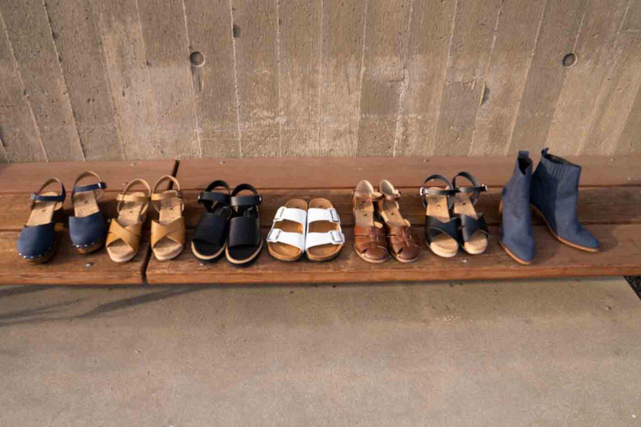 Novacas lineup of clogs sandals flats boots and more